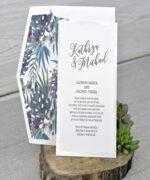 Invitatie de nunta cod 39343 din Catalogul Emma