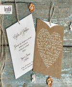 Invitatie de nunta cod 70136 din Catalogul Kristal Boutique