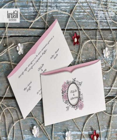 Invitatie de nunta cod 70228 din Catalogul Kristal Boutique