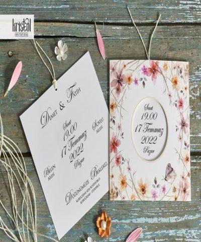 Invitatie de nunta cod 70232 din Catalogul Kristal Boutique