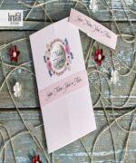 Invitatie de nunta cod 70233 din Catalogul Kristal Boutique