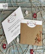 Invitatie de nunta cod 70236 din Catalogul Kristal Boutique