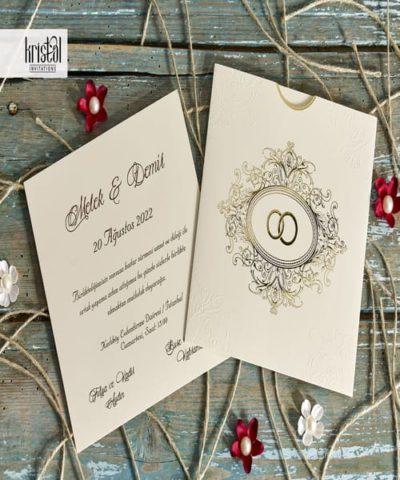 Invitatie de nunta cod 70242 din Catalogul Kristal Boutique
