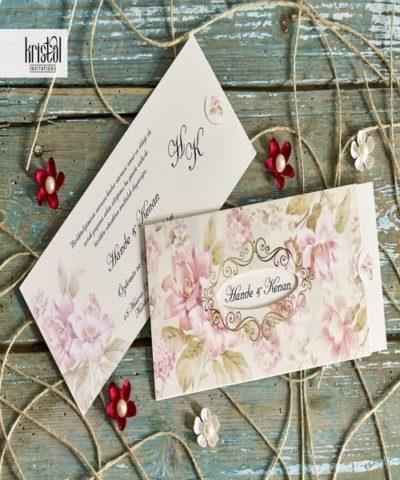 Invitatie de nunta cod 70243 din Catalogul Kristal Boutique