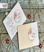 Invitatie de nunta cod 70245 din Catalogul Kristal Boutique