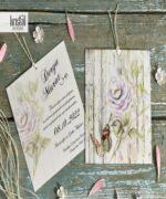 Invitatie de nunta cod 70247 din Catalogul Kristal Boutique