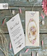 Invitatie de nunta cod 70254 din Catalogul Kristal Boutique