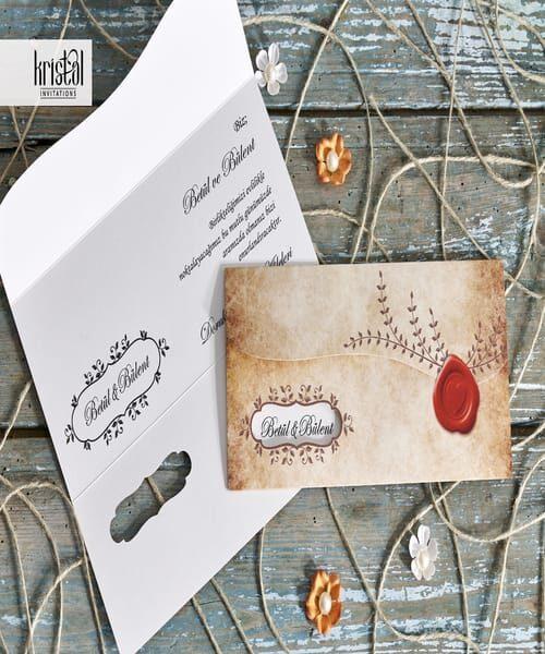 Invitatie de nunta cod 70257 din Catalogul Kristal Boutique
