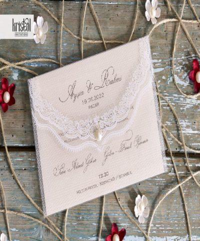 Invitatie de nunta cod 70262 din Catalogul Kristal Boutique