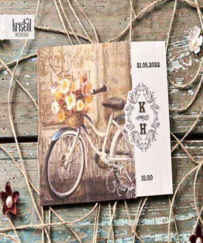 Invitatie de nunta cod 70263 din Catalogul Kristal Boutique