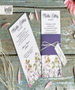 Invitatie de nunta cod 70264 din Catalogul Kristal Boutique