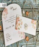 Invitatie de nunta cod 70266 din Catalogul Kristal Boutique