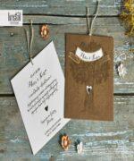 Invitatie de nunta cod 70267 din Catalogul Kristal Boutique