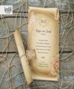 Invitatie de nunta cod 70272 din Catalogul Kristal Boutique