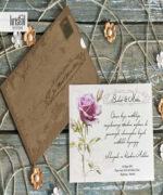 Invitatie de nunta cod 70273 din Catalogul Kristal Boutique