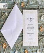 Invitatie de nunta cod 70276 din Catalogul Kristal Boutique