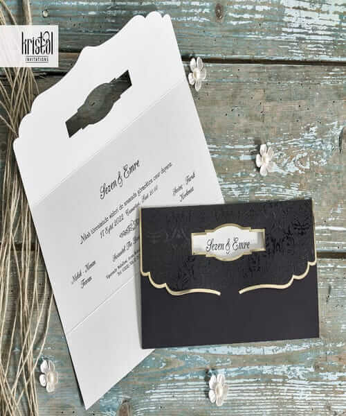Invitatie de nunta cod 70283 din Catalogul Kristal Boutique
