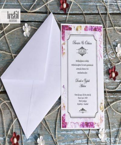 Invitatie de nunta cod 70288 din Catalogul Kristal Boutique