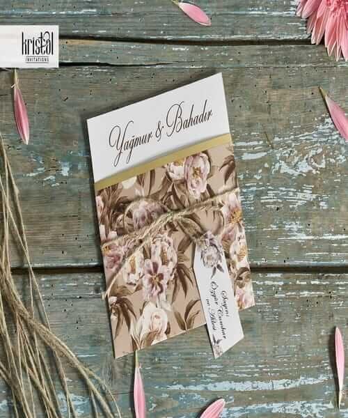 Invitatie de nunta cod 70293 din Catalogul Kristal Boutique