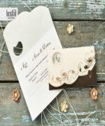 Invitatie de nunta cod 70294 din Catalogul Kristal Boutique