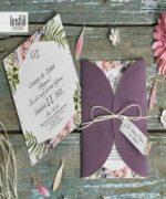 Invitatie de nunta cod 70295 din Catalogul Kristal Boutique