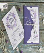 Invitatie de nunta cod 70296 din Catalogul Kristal Boutique