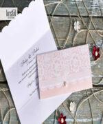 Invitatie de nunta cod 70297 din Catalogul Kristal Boutique