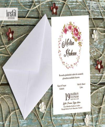 Invitatie de nunta cod 70299 din Catalogul Kristal Boutique