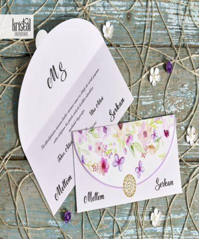 Invitatie de nunta cod 70316 din Catalogul Kristal Boutique