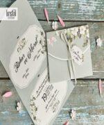Invitatie de nunta cod 70318 din Catalogul Kristal Boutique