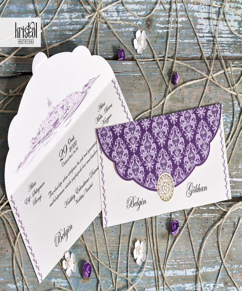 Invitatie de nunta cod 70321 din Catalogul Kristal Boutique