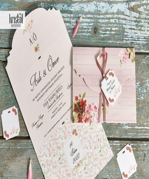 Invitatie de nunta cod 70326 din Catalogul Kristal Boutique