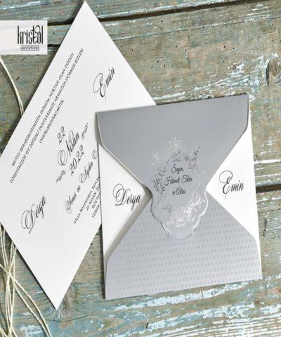 Invitatie de nunta cod 70327 din Catalogul Kristal Boutique