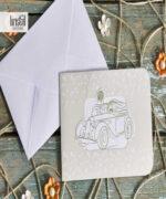 Invitatie de nunta cod 70334 din Catalogul Kristal Boutique