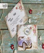 Invitatie de nunta cod 70337 din Catalogul Kristal Boutique