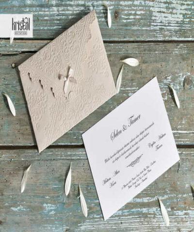 Invitatie de nunta cod 70342 din Catalogul Kristal Boutique