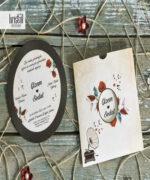 Invitatie de nunta cod 70343 din Catalogul Kristal Boutique