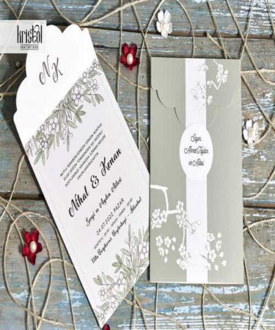 Invitatie de nunta cod 70345 din Catalogul Kristal Boutique