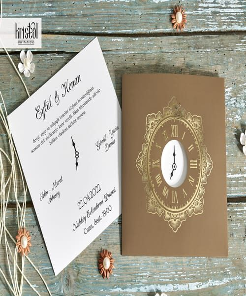 Invitatie de nunta cod 70351 din Catalogul Kristal Boutique