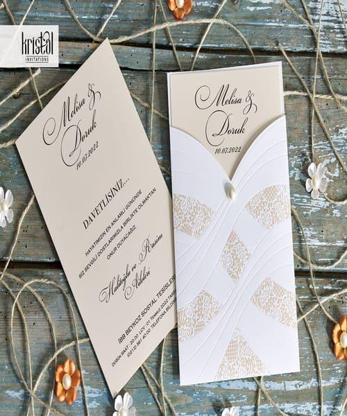 Invitatie de nunta cod 70353 din Catalogul Kristal Boutique