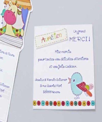 Card de confirmare botez cod 5502 din Catalogul Deluxe Botez