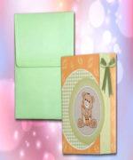Invitatie de botez cod 117 din Catalogul Lara Baby