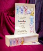 Invitatie de botez cod 138 din Catalogul Lara Baby