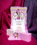 Invitatie de botez cod 139 din Catalogul Lara Baby