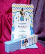 Invitatie de botez cod 140 din Catalogul Lara Baby