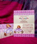Invitatie de botez cod 142 din Catalogul Lara Baby
