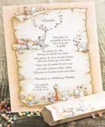 Invitatie de botez cod 15103 din Catalogul Deluxe Botez