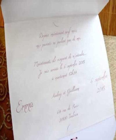 Invitatie de botez cod 15310 din Catalogul Deluxe Botez