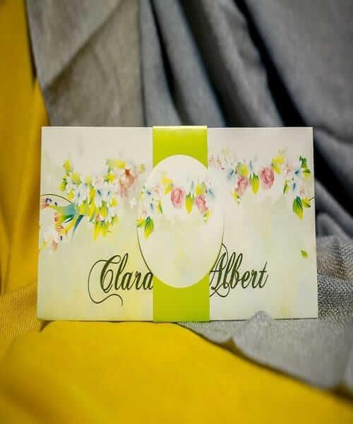 Invitatie de nunta cod 204 din Catalogul Best Cards