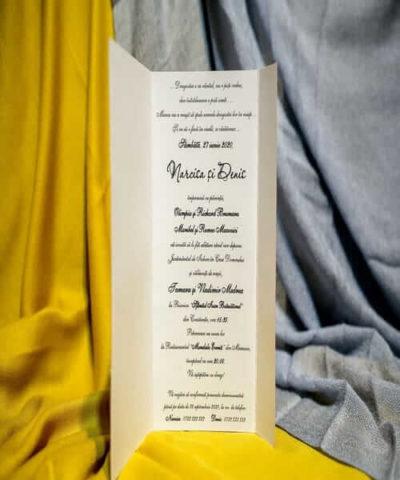 Invitatie de nunta cod 209 din Catalogul Best Cards